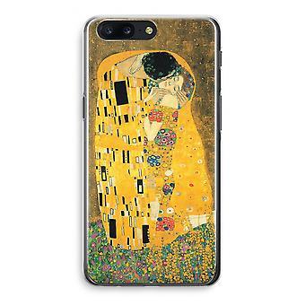 OnePlus 5 Transparant Case (Soft) - Der Kuss
