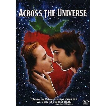På tværs af universet [DVD] USA Importer