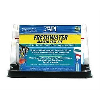 API sötvatten fisk akvarium vatten testkit för pH, ammoniak, nitrit och nitrat