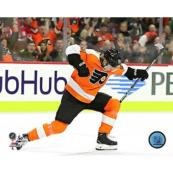 Oskar Lindblom 1st NHL Goal- March 18 2018 Photo Print