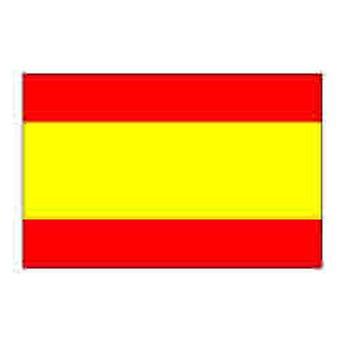 Spanje vlag 5 ft x 3 ft - zonder Crest