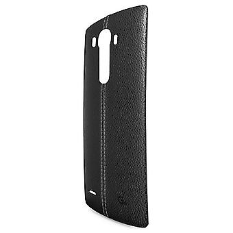 LG CPR-110 leather cover case for LG G4 H815 - black
