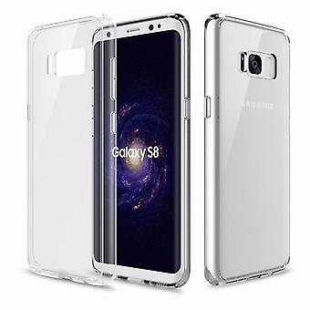 Original ROCK silicone case pouch for Samsung Galaxy S8 G950 G950F transparent