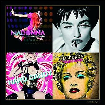 Madonna Coaster Album Montage Official 9.5cm x 9.5cm single drink