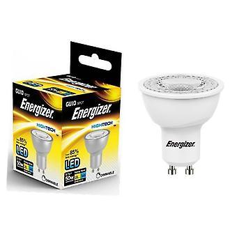 Energizer GU10 bombilla LED 345lm Spot 50W = 5.7W cálido blanco 36 ° regulable varias cantidades
