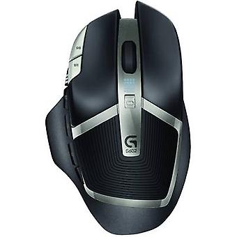 Logitech Gaming G602 Wireless Gaming-Maus optisch schwarz