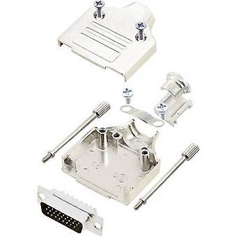 encitech MHDM-15-HDP26-K 6355-0059-02 D-SUB pin strip set 180 ° Number of pins: 26 Solder bucket 1 Set