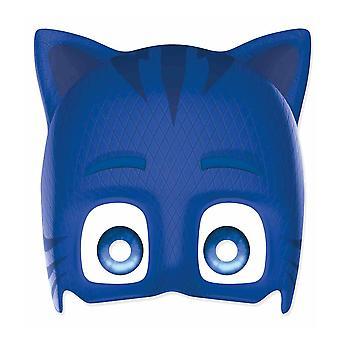Catboy from PJ Masks Single 2D Card Party Fancy Dress Mask