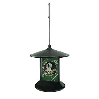 Florida State Seminoles Logo Solar Powered Hanging Birdfeeder