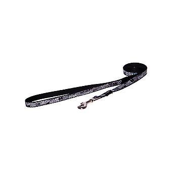 Moda negro plomo perro Lapz