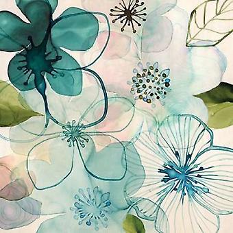 水の花私がマーガレット ・ バーグ (12 x 12) によってポスター印刷