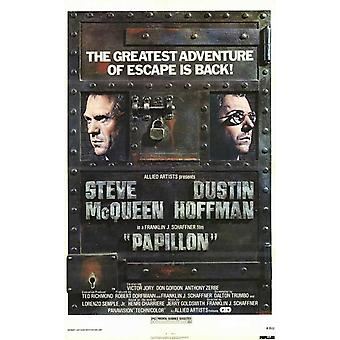 Papillon-Film-Poster (11 x 17)
