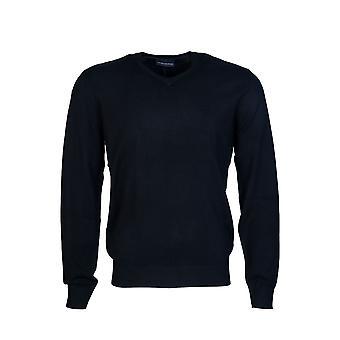 Emporio Armani Knitwear Jumper V Neck 8n1ma2 1mpqz