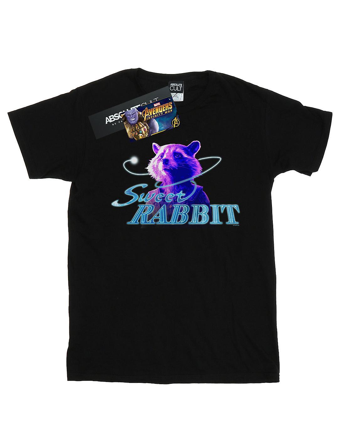 Marvel Women's Avengers Infinity War Sweet Rabbit Boyfriend Fit T-Shirt