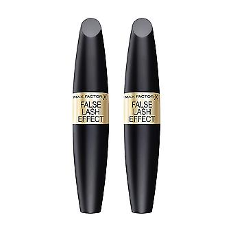 2-pack Max Factor False Lash Effect Mascara Noir 13, 1ml
