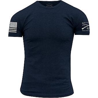Grognement Style Crewneck base T-Shirt-marine