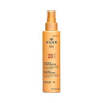 NUXE Sun Milky Spray Medium Protection for Face and Body SPF20 150ml