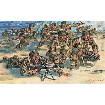 Italeri 1: 72 WW2 brittiska commandos trupper.