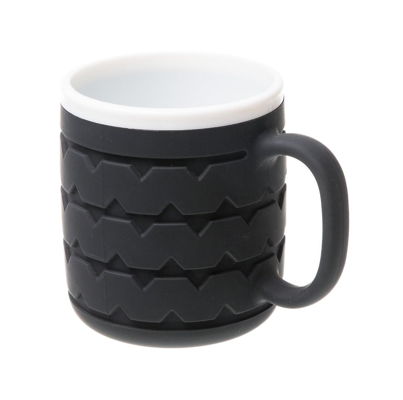 Wrenchware Car Wheel Tyre Mug - White Wall