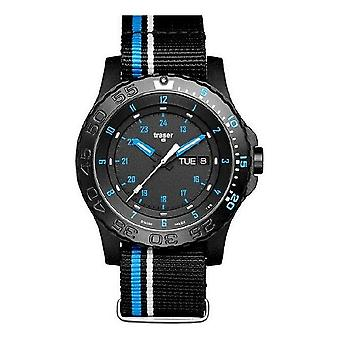 Traser H3 watch professional blue infinity 105545