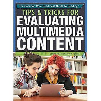 Conseils & astuces pour évaluer le contenu multimédia (Core commune Readiness Guide de lecture)