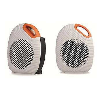 2kW pomarańczowy Two Tone wentylator nagrzewnicy kompaktowe stylowe