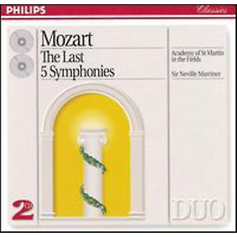 Marriner/Academy of st. Martin-in-the-Fields - Mozart: The Last Five Symphonies [CD] USA import