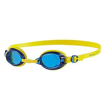 Speedo Jet Junior Kids UV Anti Fog Swimming Goggles (6-14 Years) - Blue/Yellow