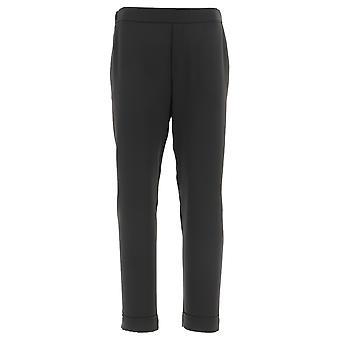 P.a.r.o.s.h. D230162x013 Dames's Black Polyester Pants