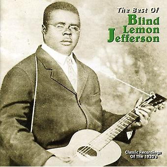 Blind Lemon Jefferson - Best of Blind Lemon Jefferson [CD] USA import