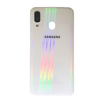 Samsung GH82-19406B paristo kannen kansi Galaxy A40 A405F + liima pad valkoinen uusi