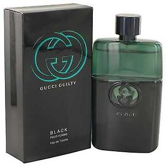 Gucci Guilty Black By Gucci Eau De Toilette Spray 3 Oz (men) V728-499598