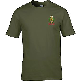 Royal Engineers først i siste ut-lisensiert British Army brodert Premium T-skjorte