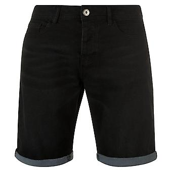 Firetrap Mens Stretch Denim Shorts
