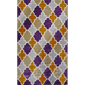 Pierre Cardin design matta i akryl Blå/Lila