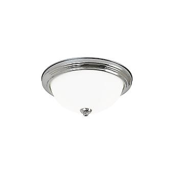 Sea Gull Lighting 77063-962 Close-to-Ceiling Fixture LED Brushed Nickel