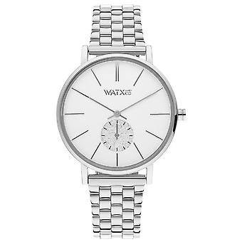 Watx&colors iris Quartz Analog Woman Watch with WXCA1015 Stainless Steel Bracelet