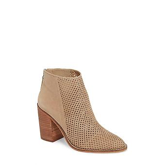 Steve Madden Womens Rumble Cuir Amande Toe Ankle Fashion Boots