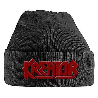 Kreator Beanie Hat Band Logo Thrash Metal new Official Black