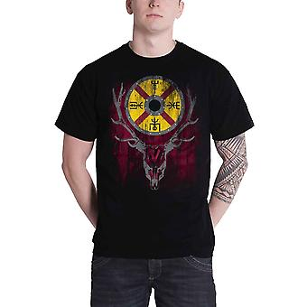 Vikings T Shirt Stag TV Show new Official Mens Black