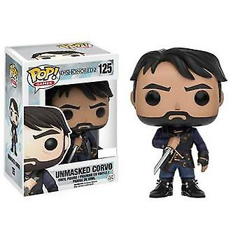 Dishonored 2 Unmasked Corvo US Exclusive Pop! Vinyl