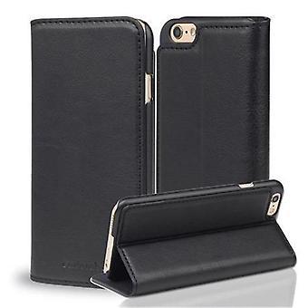 Cadorabo Hülle für Apple iPhone 6 / iPhone 6S hülle case cover - Handyhülle mit Magnetverschluss und Standfunktion - Case Cover Schutzhülle Etui Tasche Book Klapp Style