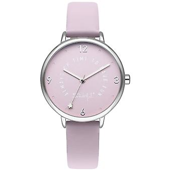 Mr wonderful dream forever Quartz Analog Woman Watch with Wr50100 Synthetic Leather Bracelet