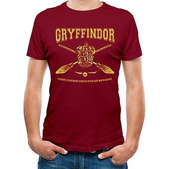 Harry Potter-kollegialt Gryffindor T-shirt