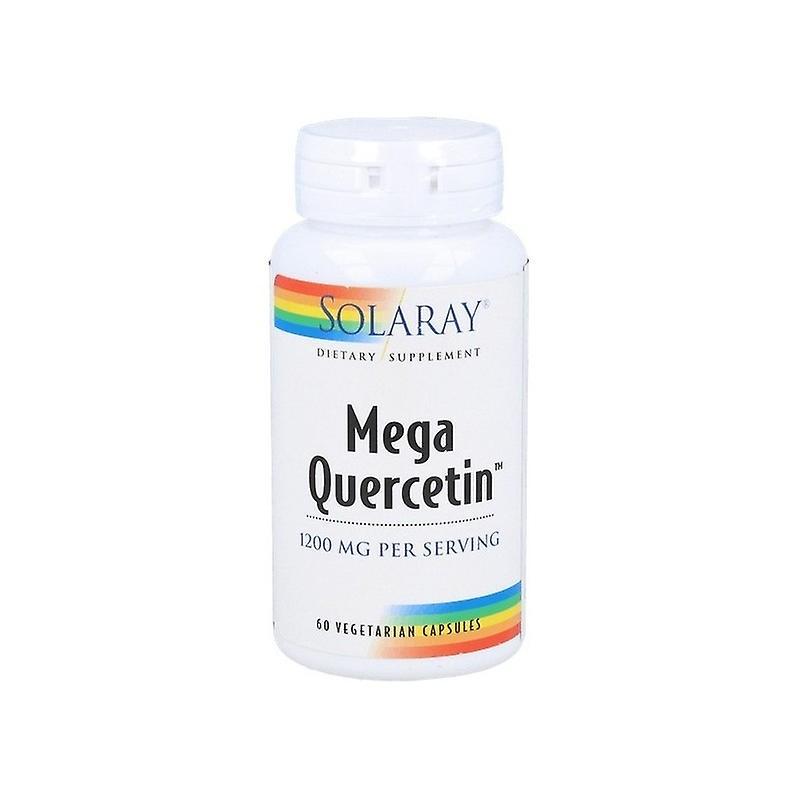 Solaray Mega Quercetin 600 Mg 60 Capsules
