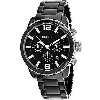 Roberto Bianci Men's Amadeo Black Dial Watch - RB58750