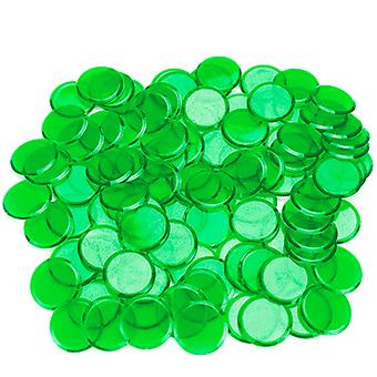100 Pack Grüne Bingo Chips