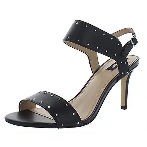 DKNY Womens Seana Leather Studded Dress Sandals WEfgE