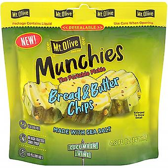 Mt. Olive Munchies Die tragbare Pickle Brot & Butter Chips