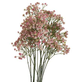 Hill Interiors Artificial Pink Babys Breath Gypsophilia